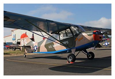N85591 Cascade Warbirds Fly-In