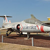 Lockheed F-104B Starfighter<br /> The F-104 set a speed record of 1,404 mph in 1958 and reached a record altitude of more than103,000 feet.