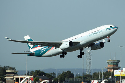 Cathay Pacific Airbus A330-300 B-LAD 100th Aircraft