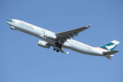 Cathay Pacific Airways Airbus A330-343 B-HLS