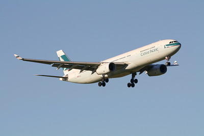 Cathay Pacific Airbus A330-343 B-LAE