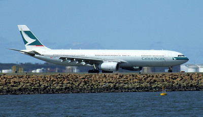 Cathay Pacific Airways Airbus A330-342 B-HLG