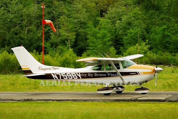 "N759BY - 1977 CESSNA 182Q ""Vinyard Flyer"""