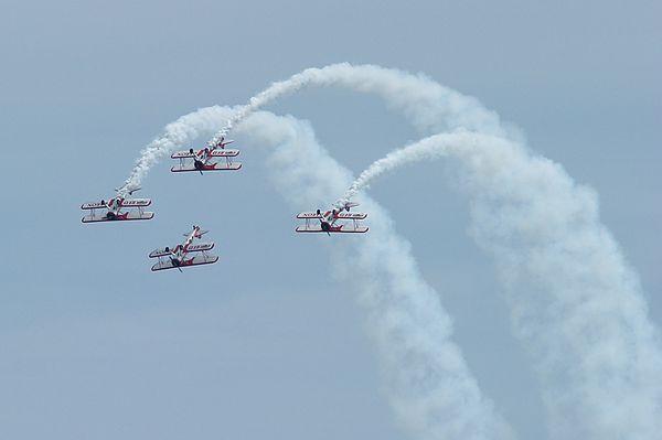 Red Baron Pizza Squadron<br /> Boeing Stearman Biplane