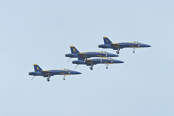 Blue Angels F/A-18 Hornet