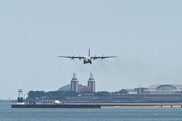 "Blue Angels C-130 Hercules ""Fat Albert"""