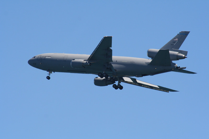 KC-10 Extender Refueler.