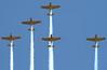 Missing Man Formation.  Lima Lima Flight Team.