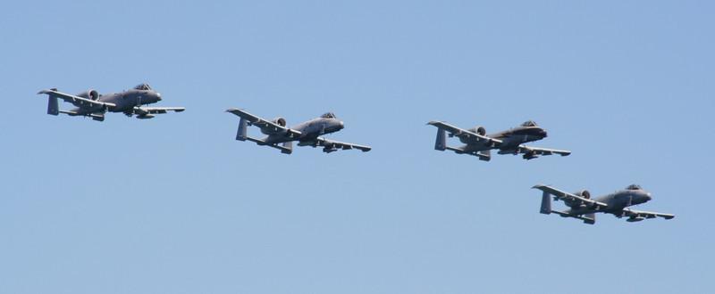 A-10 Thunderbolt Formation.