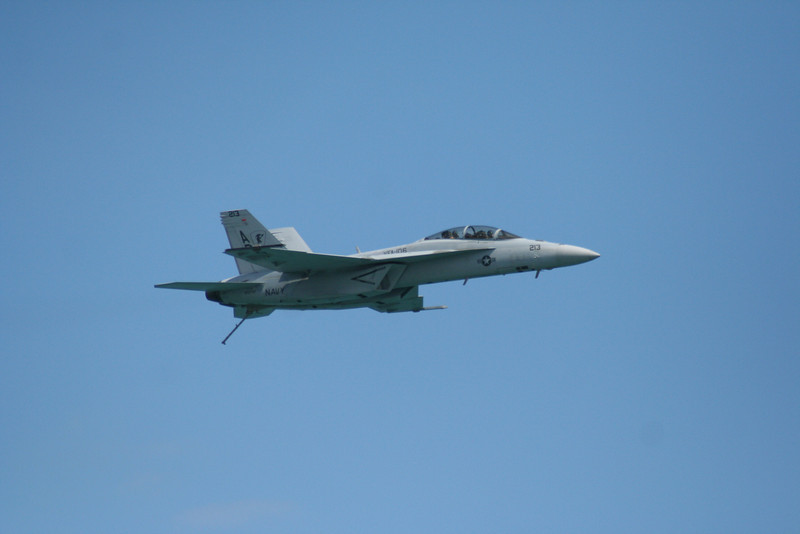 F-18 Hornet.