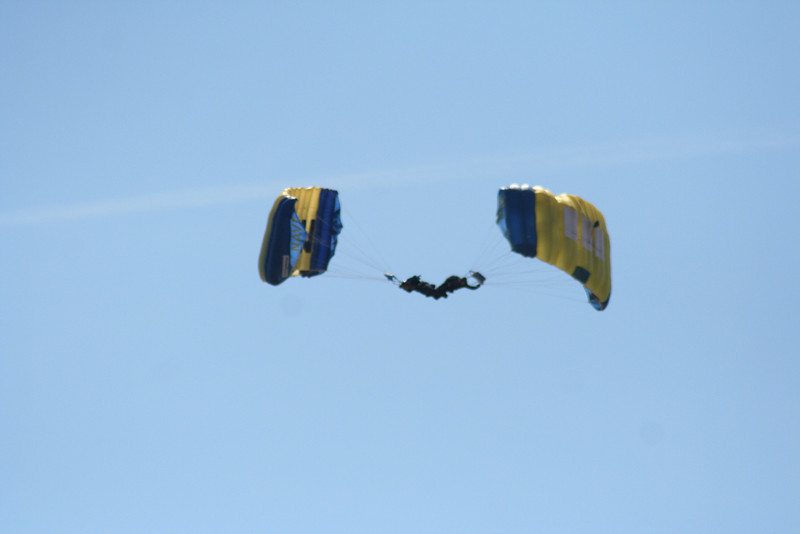 Navy Leap Frogs.
