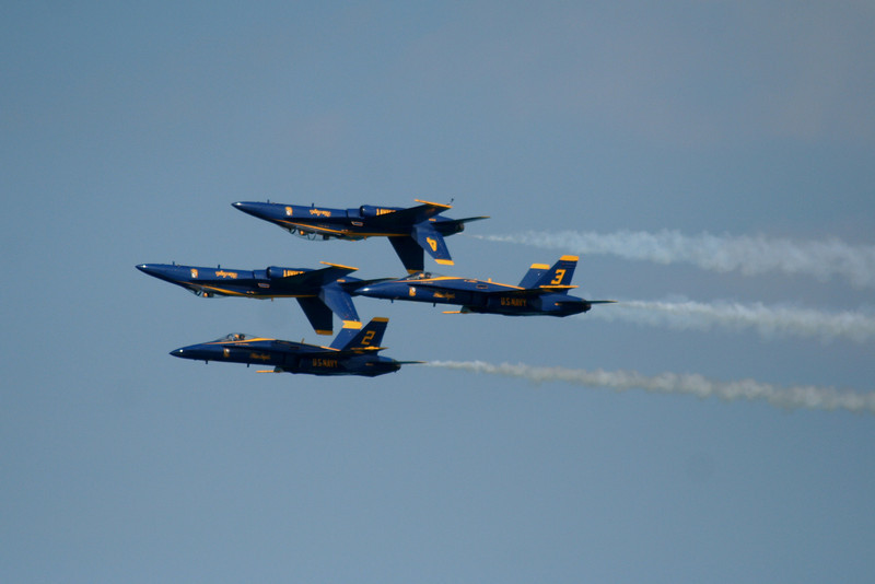 Navy Blue Angels.