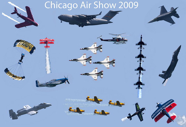 Chicago Air Show 2009 Now Complete