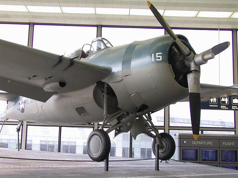 F4F Wildcat as flown by Butch O'Hare.<br /> <br /> ---- 3505_CRW_01 ----