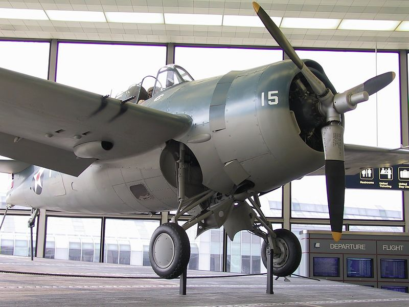 F4F Wildcat as flown by Butch O'Hare.<br /> <br /> ---- 3505_CRW_01 ----