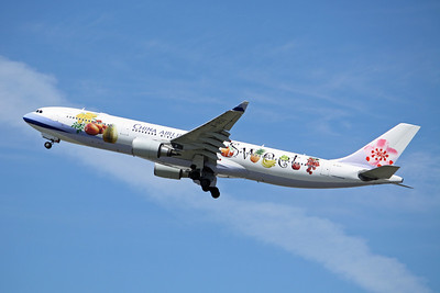 China Airlines Airbus A330-300 B-18311 Fruity Logo