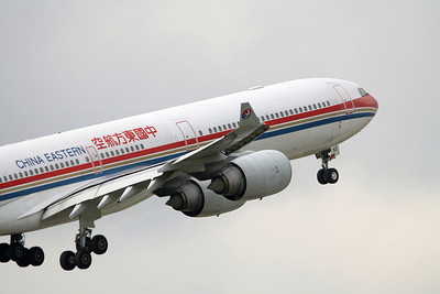 China Eastern Airlines Airbus A340-600 B-6053