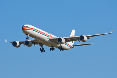 China Eastern Airbus A340-600 B-6051