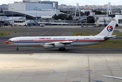 China Eastern Airbus A340-313X B-2384