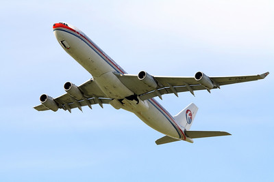 China Eastern Airlines Airbus A340-300 B-2384
