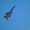 F-15 Streak ( Strike ) Eagle Climbing Fast with Full Afterburner