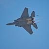 F-15 Streak Eagle with Afterburners Lit.