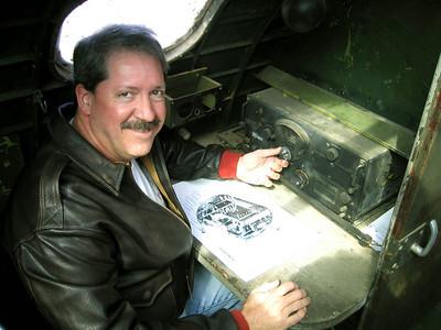 Radio operator's posision