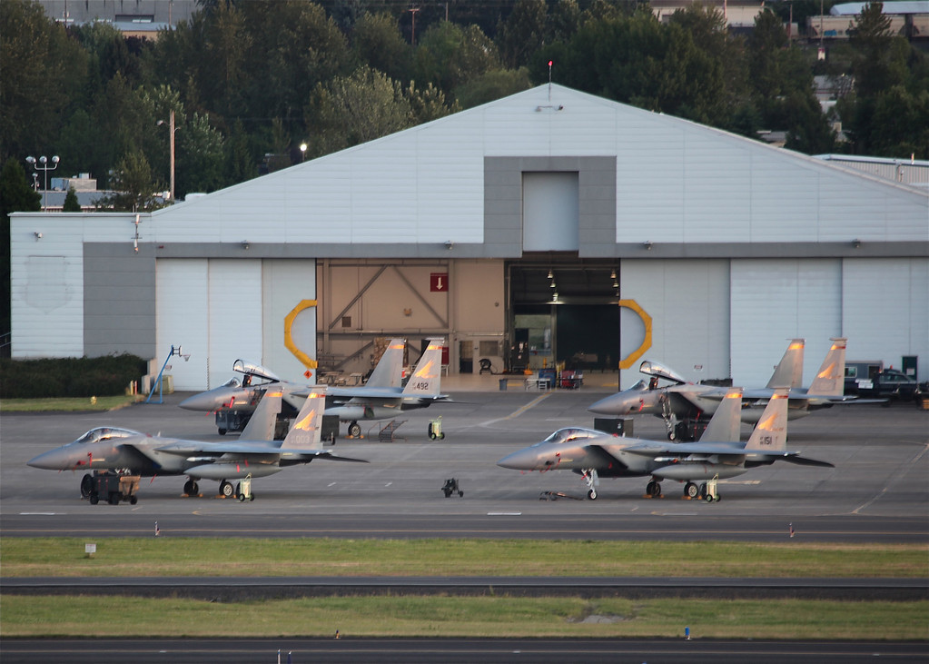 Oregon ANG Hangar