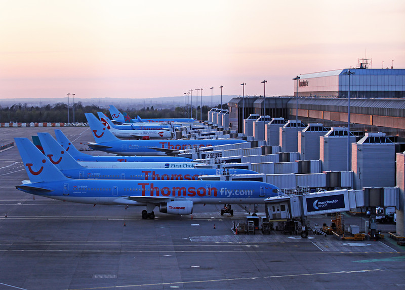 Manchester terminal 2 stands