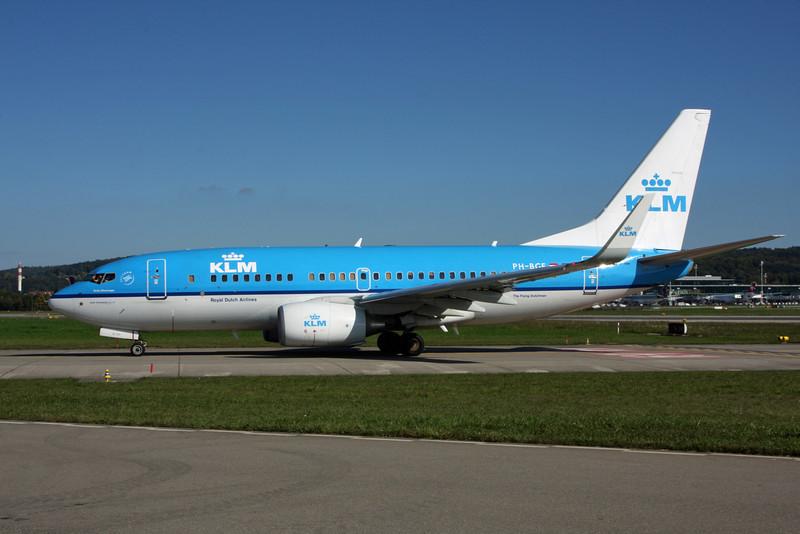 PH-BGE Boeing B737-700 (Zurich) KLM
