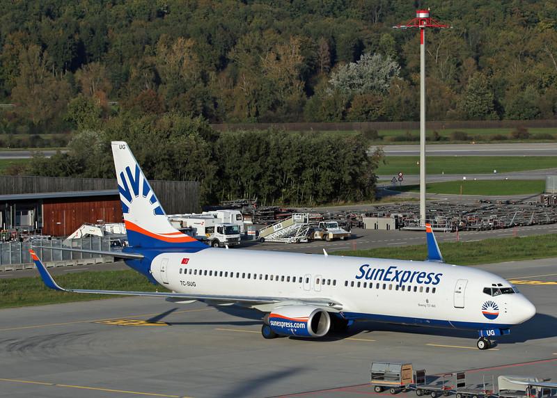 TC-SUG Boeing B737-800 (Zurich) SunExpress 3