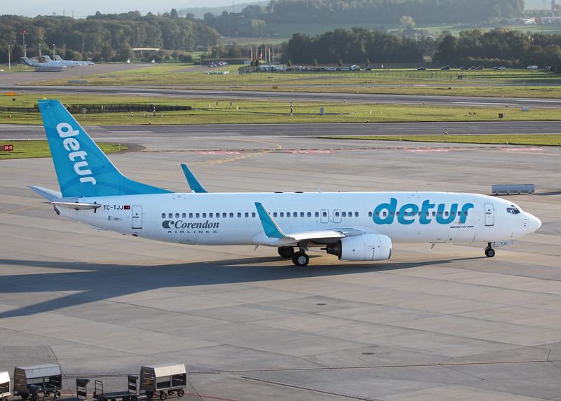 TC-TJJ Boeing B737-8S3 (Zurich) Corendon Airlines 2