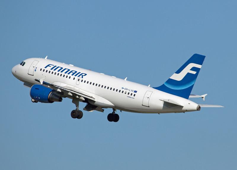 OH-LVK Airbus A319-112 (Zurich) Finnair