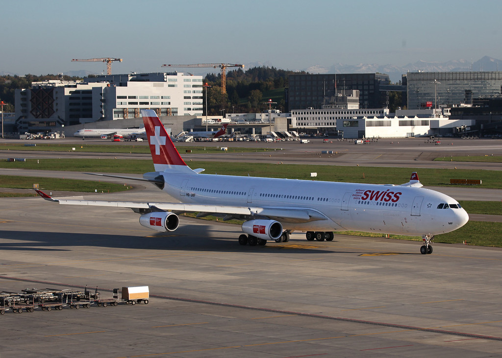 HB-JMF Airbus A340-313 (Zurich) Swiss European Air Lines Ltd 2