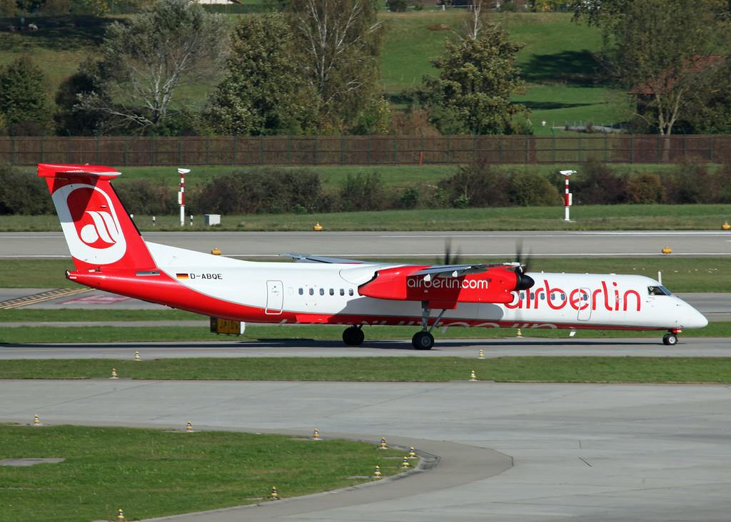 D-ABQE Bombardier DHC-8-400Q Dash 8 (Zurich) Air Berlin