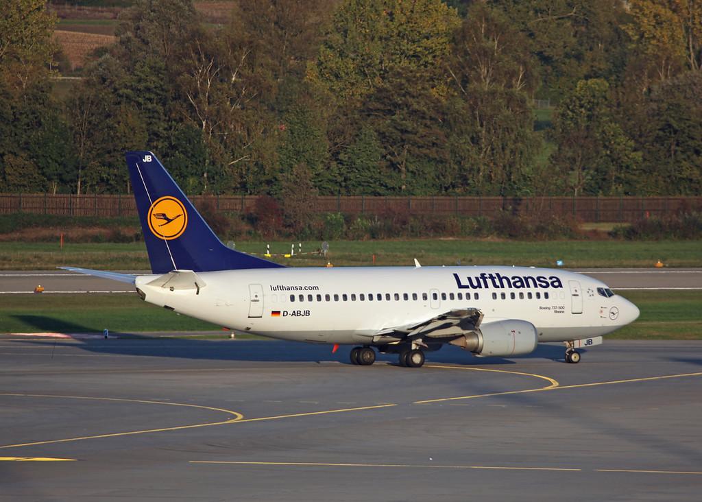 D-ABJB Boeing B737-500 (Zurich) Luthansa