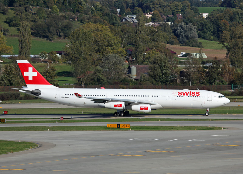 HB-JMO Airbus A340-313 (Zurich) Swiss European Air Lines Ltd
