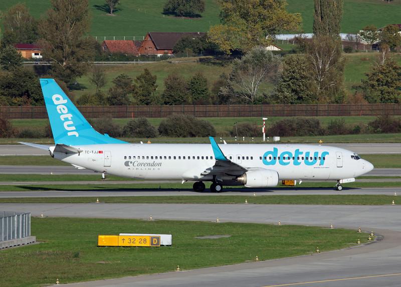 TC-TJJ Boeing B737-8S3 (Zurich) Corendon Airlines