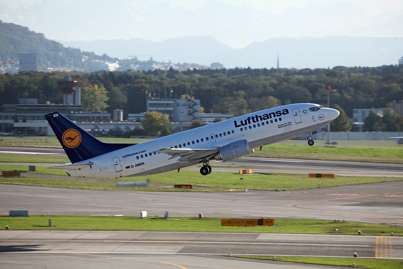 D-ABEN Boeing B737-300 (Zurich) Luthansa