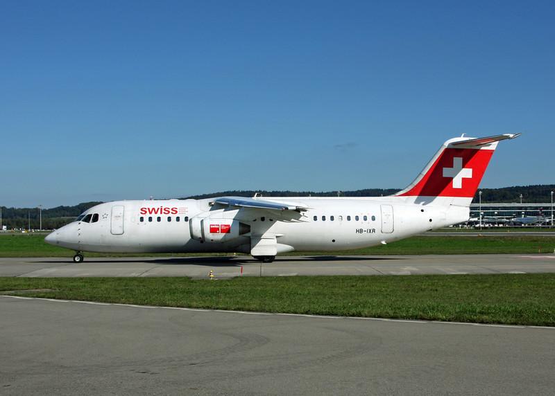 HB-IXR BAe AVRO 146-RJ100 (Zurich) Swiss European Air Lines AG 2