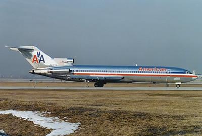 American Airlines Boeing 727-223/Adv Toronto - Lester B. Pearson International (Malton) (YYZ / CYYZ) Canada - Ontario, March 1989 Reg: N872AA Cn: 21384/1328