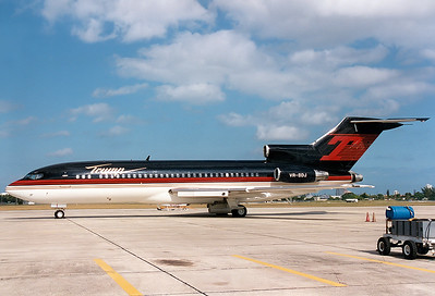 Boeing 727-23 Trump REG: VR-BDJ  West Palm Beach - Palm Beach Intl.  (PBI / KPBI) Florida, USA November 1996