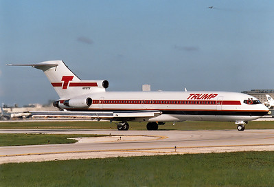 Trump Shuttle REG: N919TS Boeing 727-225 MSN: 20447 Miami - Intl.  (MIA / KMIA) Florida, USA - September 1989