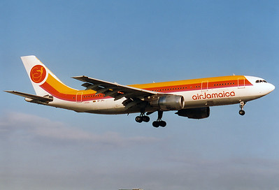Air Jamaica Airbus A300B4-203 Miami - Intl.  (MIA / KMIA) USA - Florida, November 1993 Reg: 6Y-JMJ  Cn: 127