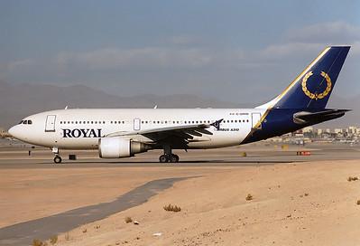 Royal Airlines  Airbus A310-304  MSN: 435 Reg.: C-GRYD   Las Vegas - McCarran Intl. (LAS / KLAS)  Nevada  USA  January 1999