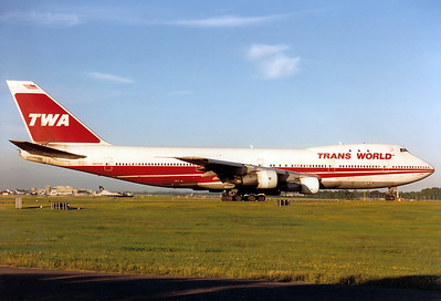 Boeing 747-131 Trans World Airlines - TWA REG: N93104  London - Gatwick (LGW / EGKK) England, United Kingdom July 1996