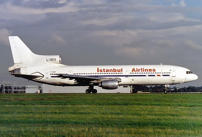 Istanbul Airlines (Air Atlanta Icelandic) Lockheed L-1011-385-1-15 TriStar 100  	London - Stansted (STN / EGSS) UK - England, August 2000 Reg: TF-ABM  Cn: 193B-1072