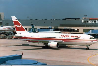 Boeing 767-231(ER) Trans World Airlines - TWA REG: N604TW |  Frankfurt am Main (Rhein-Main AB) (FRA / EDDF / FRF) Germany September 27, 1985