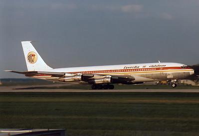 EgyptAir Boeing 707-366C Reg.: SU-AOU MSN: 19844  Frankfurt am Main (Rhein-Main AB) (FRA / EDDF) Germany - June 1987