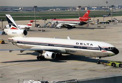 McDonnell Douglas MD-11 Delta Air Lines REG: N813DE  Frankfurt am Main (Rhein-Main AB) (FRA / EDDF / FRF) Germany May 1998